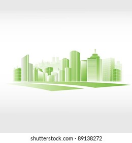 vector city background