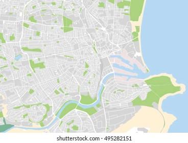 Aberdeen Map Images, Stock Photos & Vectors   Shutterstock
