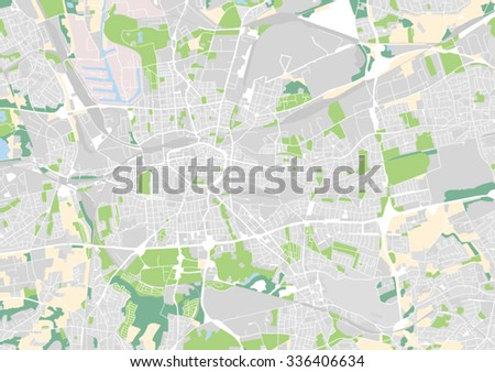 Dortmund On Map Of Germany.Vector City Map Dortmund Germany Stock Vector Royalty Free