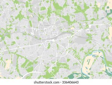 Essen Germany Map Images Stock Photos Vectors Shutterstock