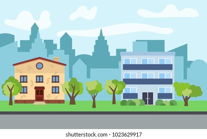 Three Story Houses | Three Story House Images Stock Photos Vectors Shutterstock
