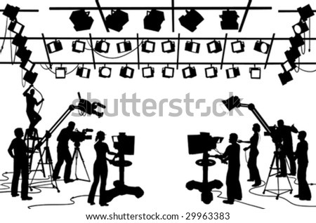 vector clip art set tv channel stock vector royalty free 29963383
