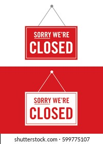 Vector Closed Sign Set
