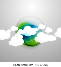 Vector clouds technology design