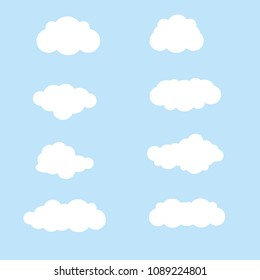 vector clound icons