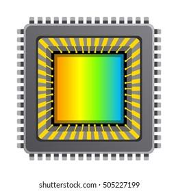 Vector cmos ccd image sensor. Digital camera cmos ccd image sensor.