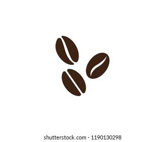 vector coffee beans icon