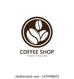 vector coffee logo template vector icon illustration design