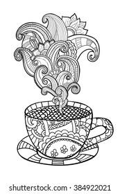 Vectores Imágenes Y Arte Vectorial De Stock Sobre Cafe Y