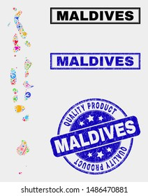 Maldives Map Images, Stock Photos & Vectors | Shutterstock