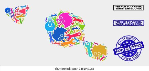 Map Tahiti Images Stock Photos Vectors Shutterstock