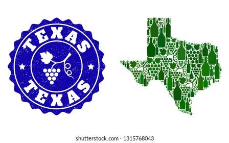 Map Of Texas Wineries.Texas Wineries Stock Vectors Images Vector Art Shutterstock