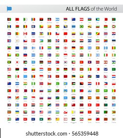 Vector Collection of All World Vector Flags