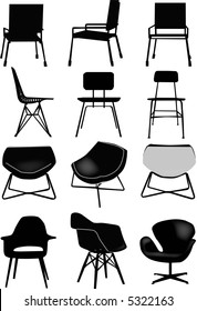 vector - collection of design chair