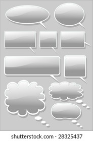 Vector collection of design shapes