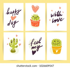 Vector Collection Flat Happy Loving Couple Stock Vector Royalty