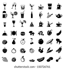 vector collection: food icons