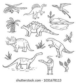How To Draw Dinosaur Background