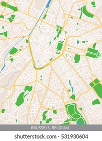 Vector Map Brussels Images, Stock Photos & Vectors ...