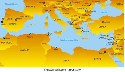 mediterranean countries Images, Stock Photos & Vectors | Shutterstock