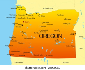 oregon state map Oregon Map Images Stock Photos Vectors Shutterstock oregon state map