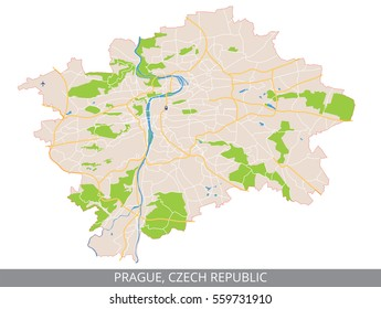 Praha Mapa Images Stock Photos Vectors Shutterstock
