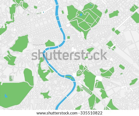 Capital Of Italy Map.Vector Color Map Rome Capital Italy Stock Vector Royalty Free