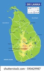 Mapa De Sri Lanka.Imagenes Fotos De Stock Y Vectores Sobre Ceylon Map