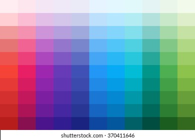Vector color palette of material design colors for creation modern design