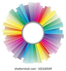 vector color palette, color spectrum