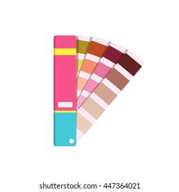 Vector color panton for designer