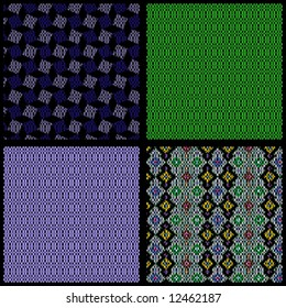 vector - color pattern