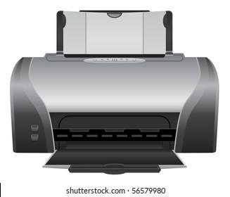 vector color printer device