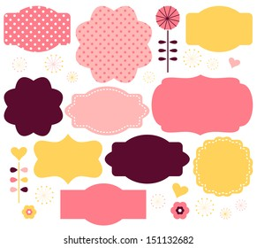 Cute Label Images, Stock Photos & Vectors | Shutterstock