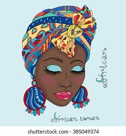 African Women Head Wrap 4 Duvet Cover for Sale by James Mingo
