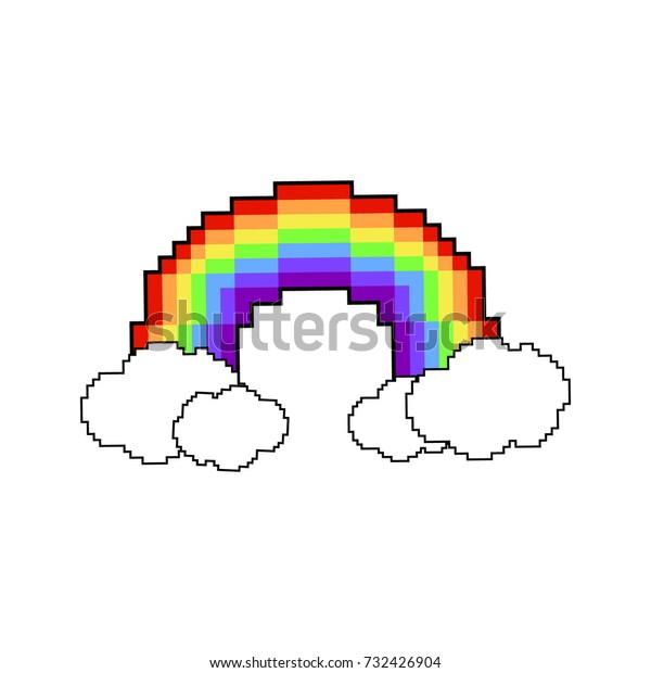 Image Vectorielle De Stock De Image Vectorielle Pixel Arc En