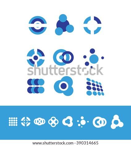 vector company logo icon element template stock vector royalty free