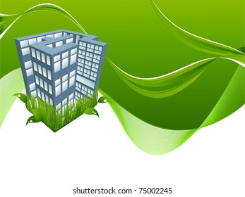 vector concept  environmental background with copy space