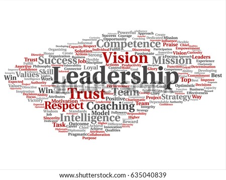 vector conceptual business leadership strategy management stock