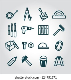 Vector Construction and Building Icons Set