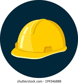 Vector Construction Helmet