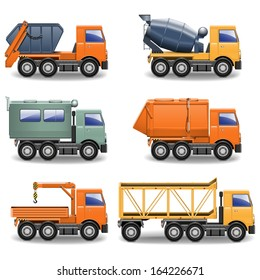 Vector Construction Machines Set 2