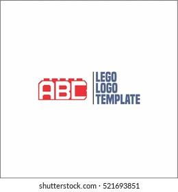 Lego logo images stock photos vectors shutterstock vector constructor design logo kids toy logo template maxwellsz