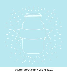 Vector contour jars
