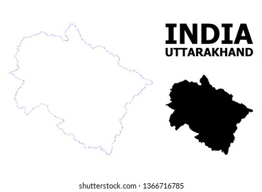 Uttarakhand Outline Images, Stock Photos & Vectors ...