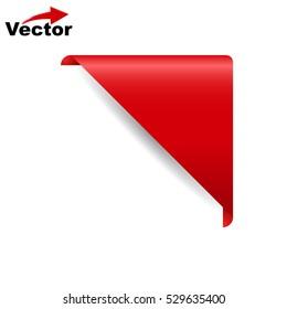 vector  Corner Banner