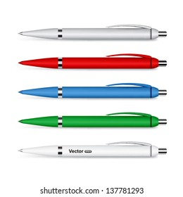 Vector corporate pen design