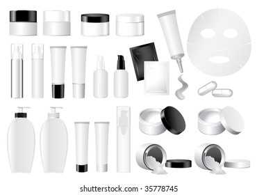 Vector Cosmetic Container dummy