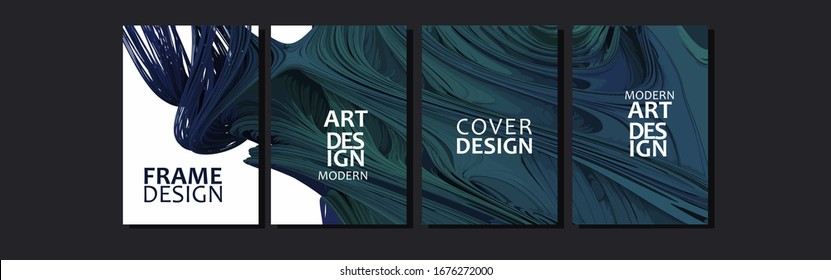 Vector cover for text. Abstract colorful fluid background . Applicable for design cover, presentation, invitation, flyer, annual report, poster and business card, desing packaging