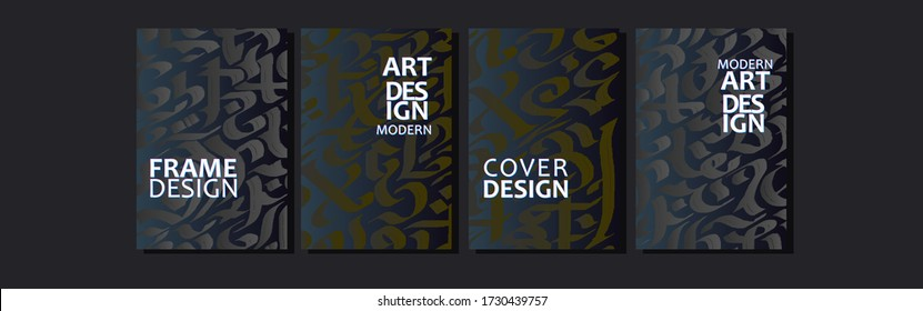 Vector cover for text. Abstract colorful fluid line background . Applicable for design cover, presentation, invitation, flyer, annual report, poster and business card, design packagin